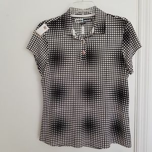 Jamie Sadock Women's Golf Shirt size Medium.